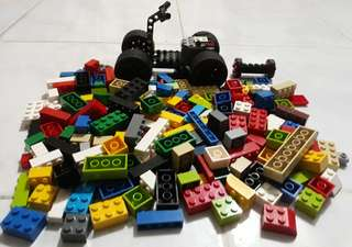 Original Lego 180-piece with ATV Chassis set