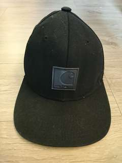 CARHARTT棒球硬挺帽 黑
