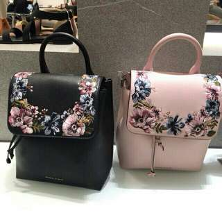 Charles and Keith backpack Original