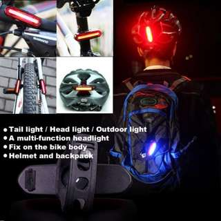 Rechargable 2 Colour LED Tail Light - Bicycle/Scooter/Motorbike