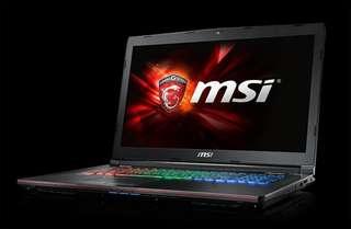 Laptop Gaming MSI GE72 6QF Apache Pro