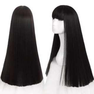Japanese Jetblack Soft Wig