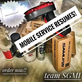 SAMURAI LIP MOBILE SERVICE INSTALLATION RESUMES!