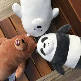 We Bare Bears (Medium Size) Soft Toy Plush