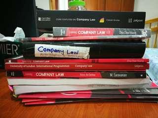 Company law books
