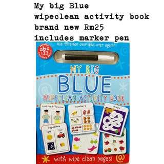 My big blue activity book