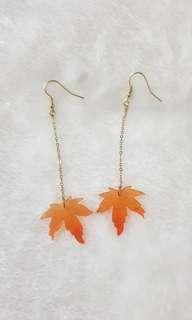 Jp Maple Leaf Earrings