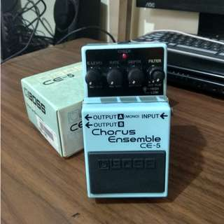 Guitar Effects Pedal (Boss Chorus Ensemble)