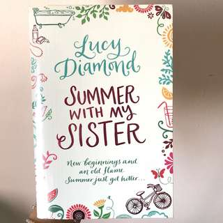 Lucy Diamond Summer With My Sister novel