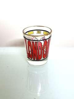 英國小玻璃酒杯