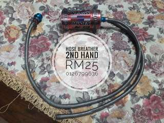 Hose breather