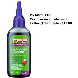 Weldtite TF2 Performance Lube with Teflon (Chain lube) $12.80