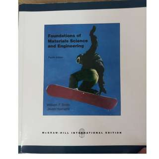 Foundations of Materials Science and Engineering, Fourth Edition