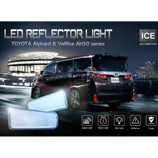 Toyota Alphard / Vellfire AH30 series - Rear Bumper LED Light (4 in 1)