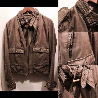 🚚 日本帶回防潑水卡其色騎士夾克 (附穿搭指南)