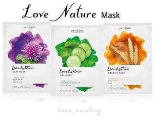 Masker Love Nature Oriflame