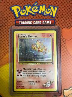 Pokemon Blaine's Moltres TCG NM