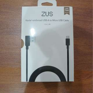 Nonda ZUS Kevlar Micro USB Charging Cable LIFETIME WARRANTY