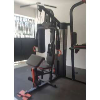 3in1 Stationary Gym and Home Equipment