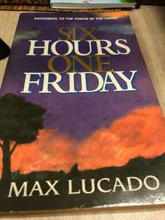Christian book by Max Lucado