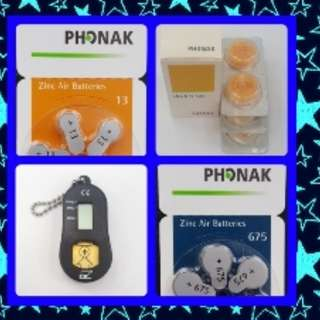 🔴🔵🔴 Hearing Aid Batteries (New)