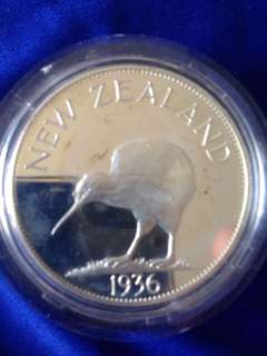 1936 New Zealand com. Coin