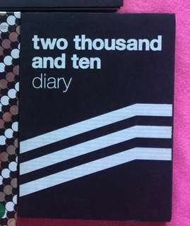 BIGBANG 2010 diary booklet