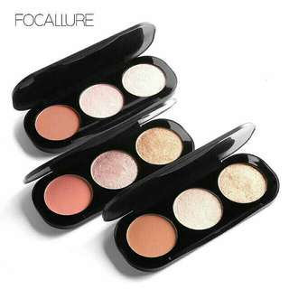 Focallure blush and highlight palette