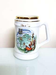 西班牙加利西亞 Galicia大記念玻璃杯