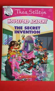 Brand New Thea Stilton Mouseford Acadrmy The Secret Invention