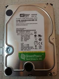 2TB Hard Drive (Internal)