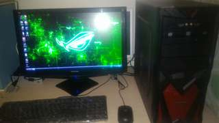 "AMD FX4100 + 22"" VIEWSONIC LED"