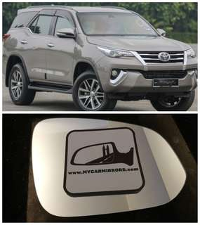 Toyota Fortuner side mirror all models