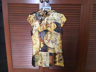 Used Cheongsam Top - Excellent condition