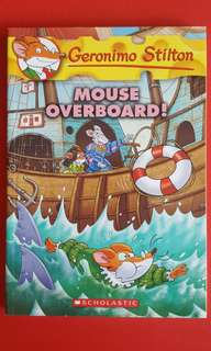 Brand New Geronimo Stilton Mouse Overboard!