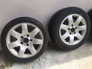 "BMW E46 16"" Wheels / Rims 4pcs"