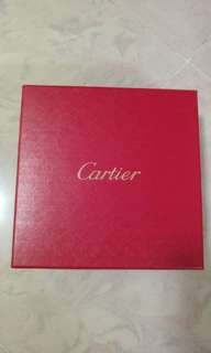 Cartier Red Box