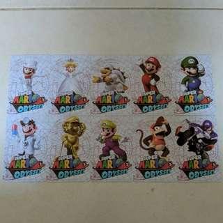 🚚 (Ready stock) Amiibo cards for Super Mario Odyssey