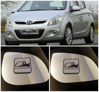 Hyundai i10 i20 i30 side mirror all models