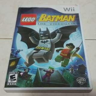 Wii Lego Batman Nintendo original game