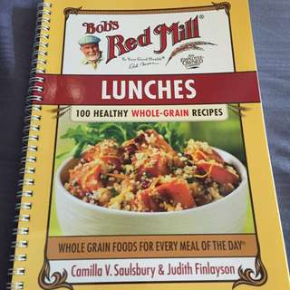 Bob's Red Mill Cook book - Lunches (signed)