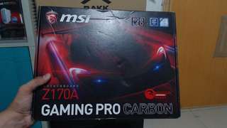 Motherboard MSI Z170A Gaming Pro Carbon