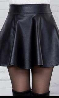 PVC Leather Skirt