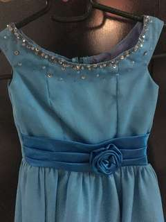 Blue gown / dress / costume