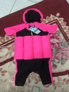 Swimming suit float saiz m