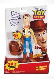 """迪士尼/彼思動畫反斗奇兵玩具說話6""""胡迪  玩具總動員 皮克斯動畫 6"""" Disney Pixar Toy Story Talking Woody"""