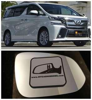 Toyota Vellfire side mirror all models