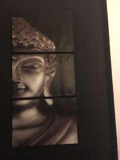 Buddha wall poster