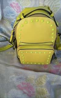 Yellow Bagpack
