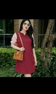 Casual Dress Wanita Korea